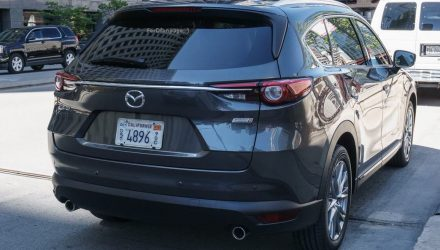 Mazda CX-8 spotted in California, is this the 7-seat CX-5?