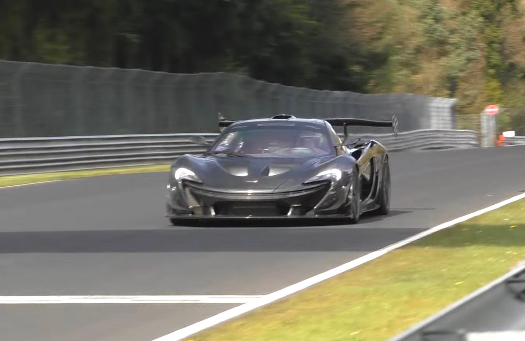 McLaren-P1-LM-at-Nurburgring Interesting Porsche 911 Gt2 Rs Nurburgring Lap Cars Trend