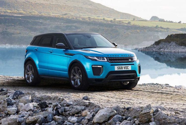 range rover evoque celebrates 6th anniversary with special edition performancedrive. Black Bedroom Furniture Sets. Home Design Ideas