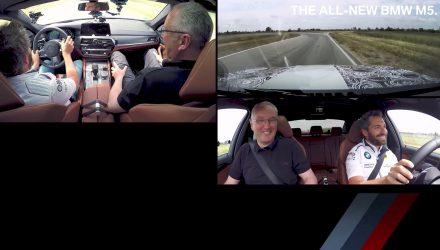 Timo Glock 2018 BMW M5 prototype