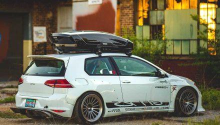 Volkswagen Golf GTI RS concept-rear