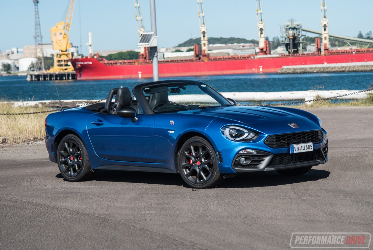 2017 Abarth 124 Spider Review Video Performancedrive