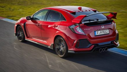 2017 Honda Civic Type R does 0-100km/h in 5.7 seconds