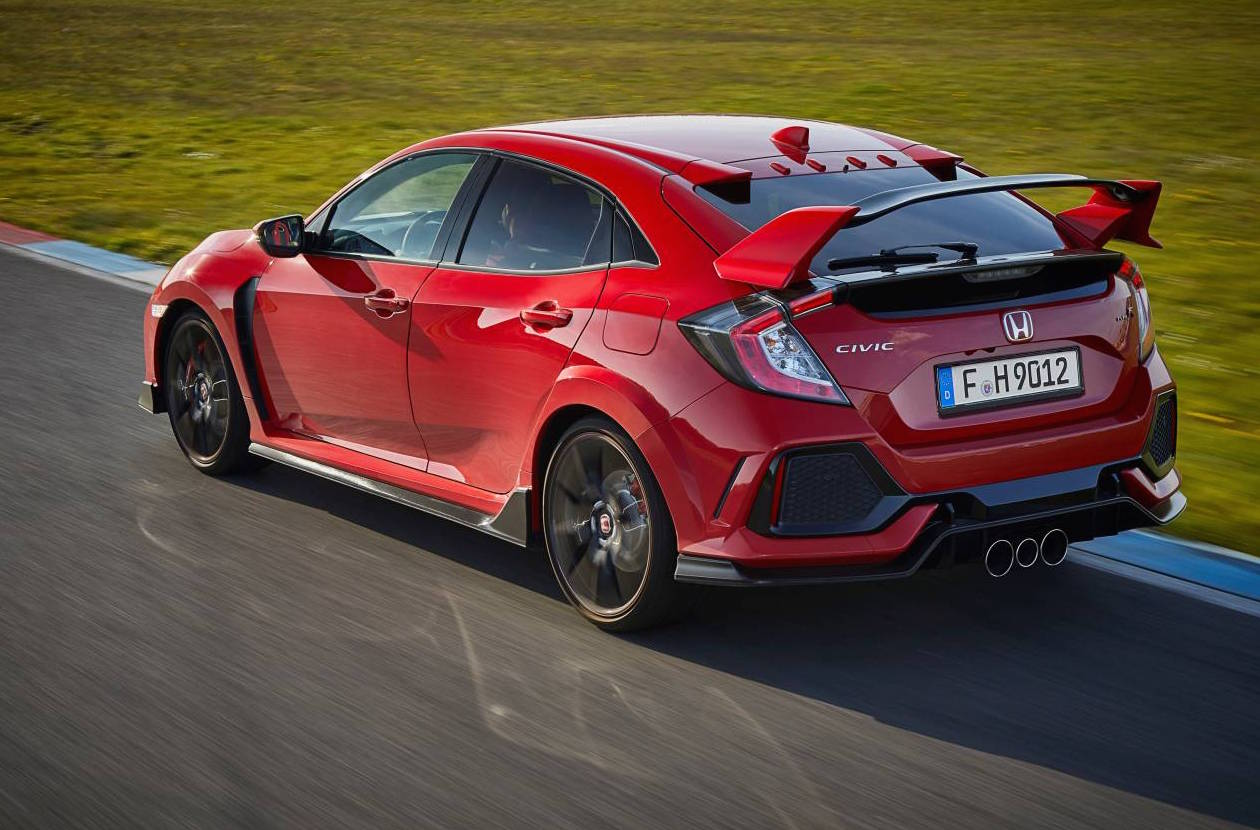 2017 honda civic type r does 0 100km h in 5 7 seconds. Black Bedroom Furniture Sets. Home Design Ideas