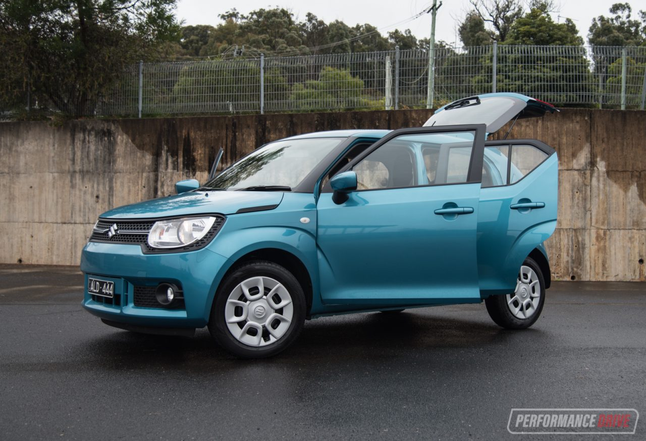 2017 suzuki ignis review video performancedrive. Black Bedroom Furniture Sets. Home Design Ideas