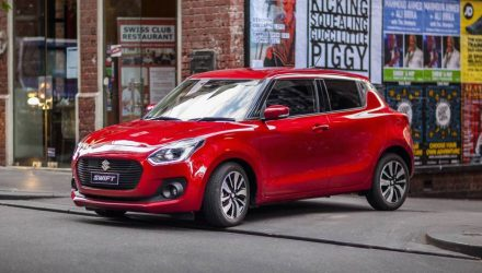 2017 Suzuki Swift now on sale in Australia, with GLX turbo