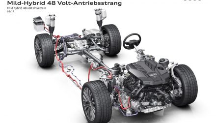 2018 Audi A8 48-volt electric system previewed, debuts July 11