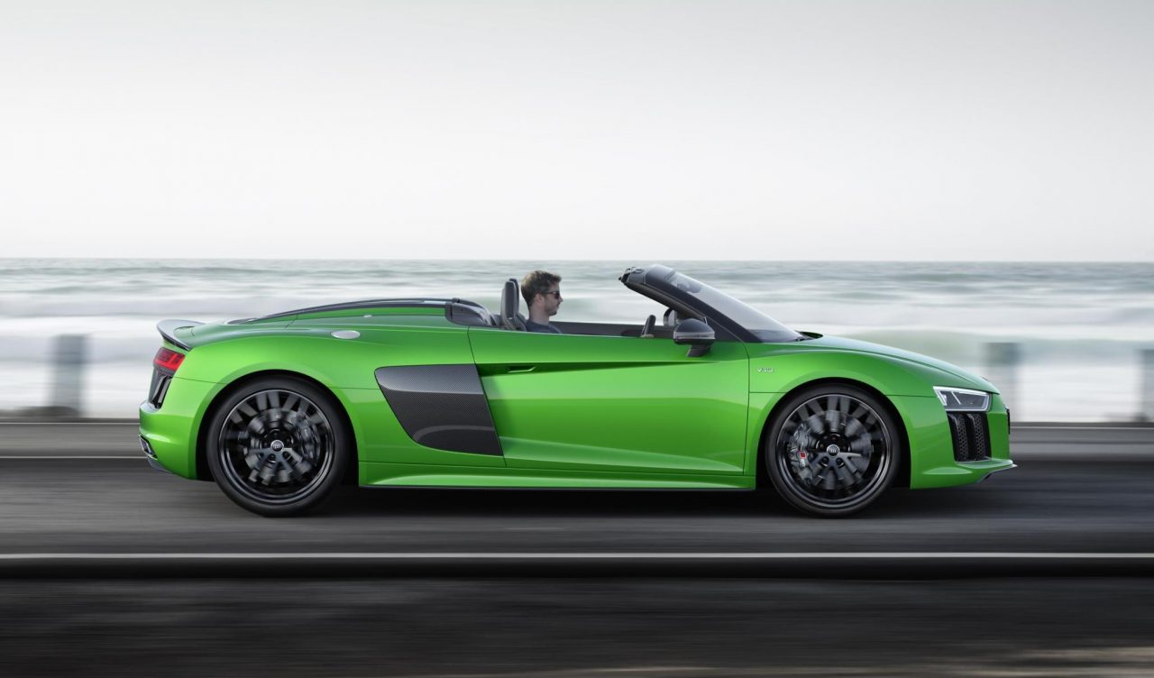 2018 audi r8 spyder v10 plus unveiled performancedrive. Black Bedroom Furniture Sets. Home Design Ideas