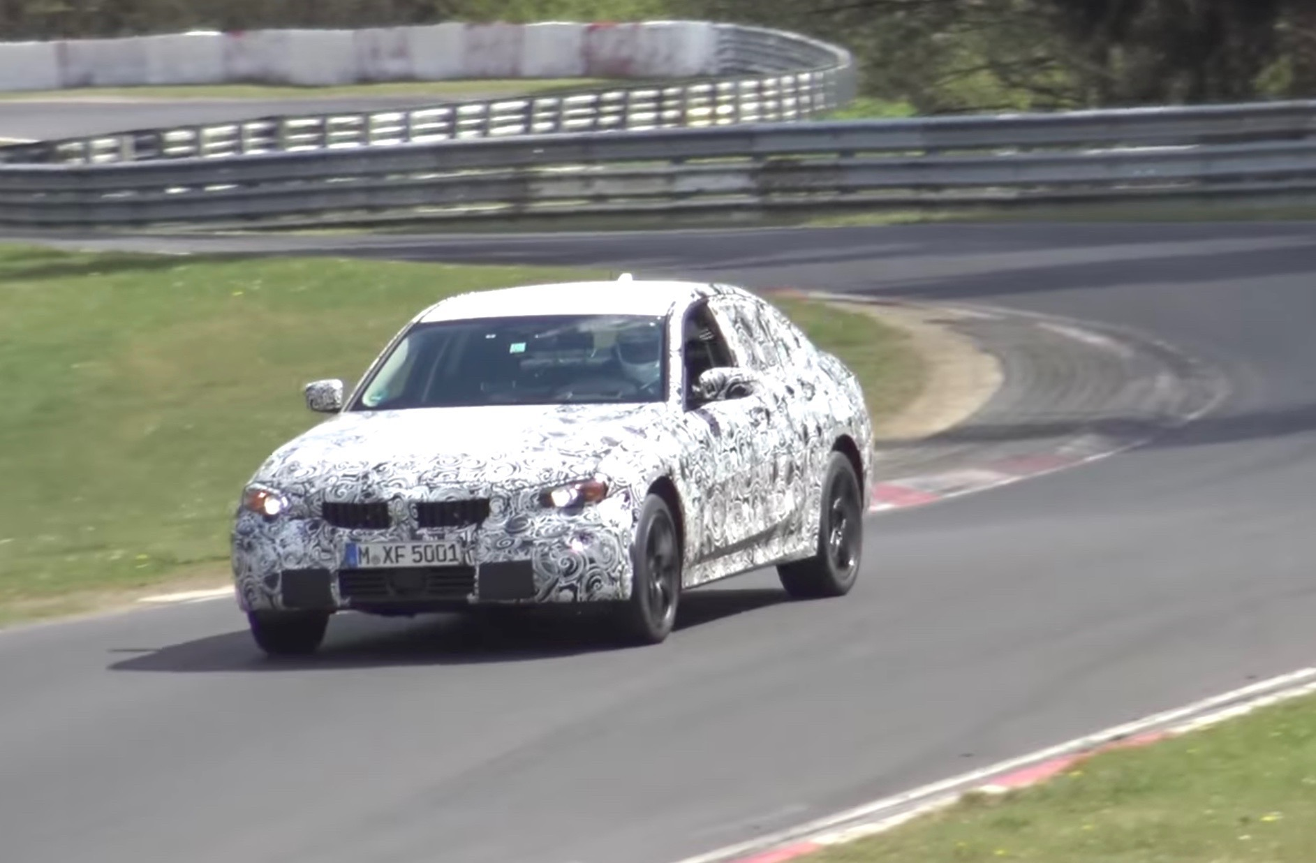 2018 bmw g20. unique g20 the prototype sounds suspiciously quiet out on the nurburgring and  nurburgring is located in a very peaceful area hills west germany intended 2018 bmw g20 o