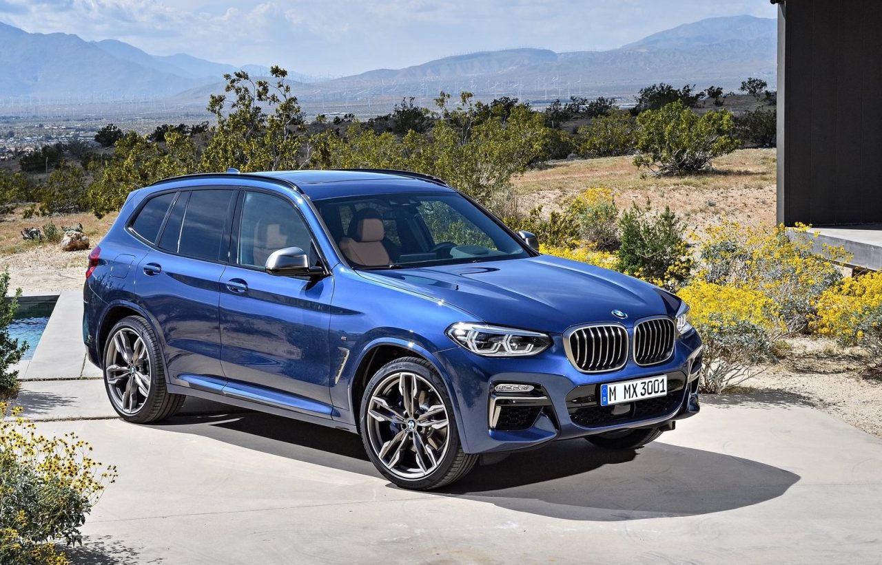 2018 bmw x3 officially revealed m40i confirmed performancedrive. Black Bedroom Furniture Sets. Home Design Ideas
