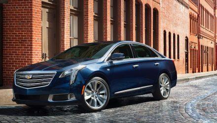 2018 Cadillac XTS revealed, V-Sport gets 306kW twin-turbo V6