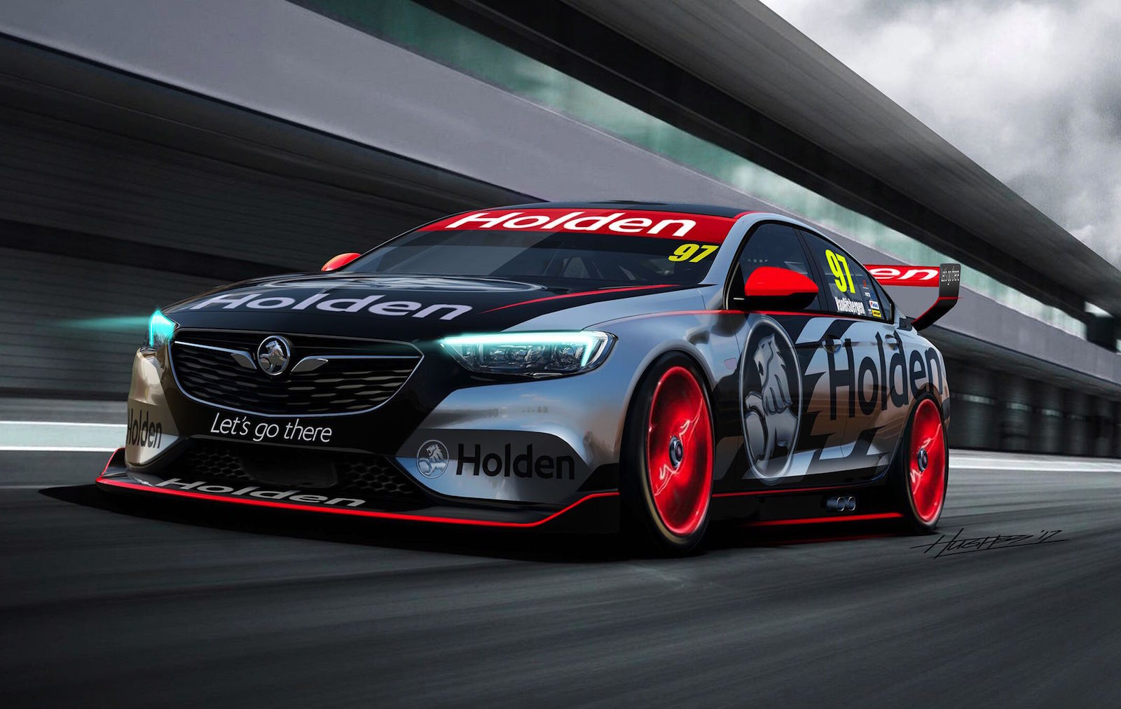 2018 Holden Commodore Supercar race car revealed | PerformanceDrive