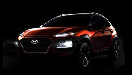 Hyundai Kona previewed one last time, debuts June 12