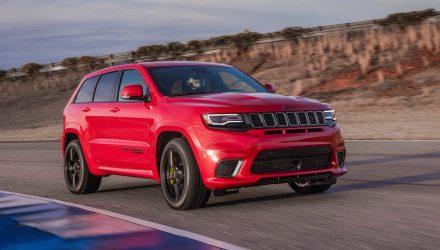 Jeep Grand Cherokee Trackhawk confirmed for Australia