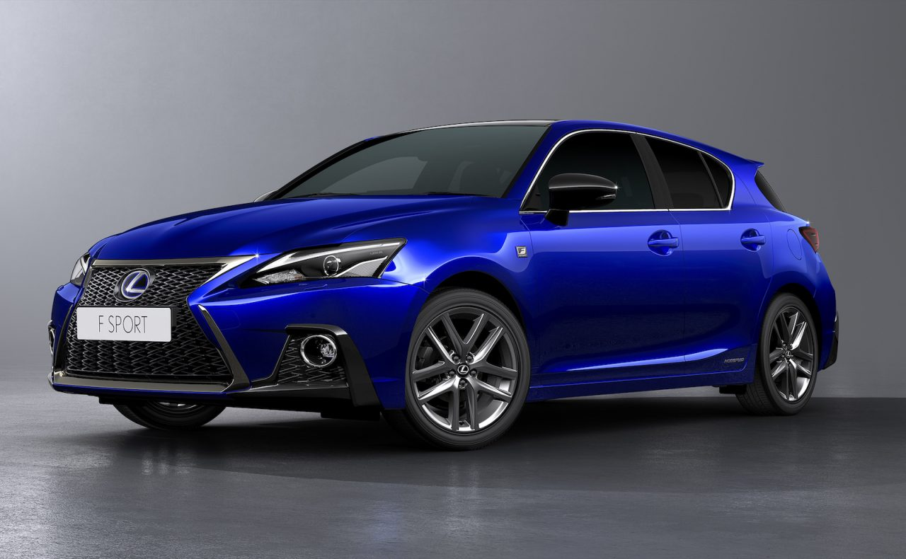 2018 Lexus CT 200h facelift revealed with sharpened design | PerformanceDrive