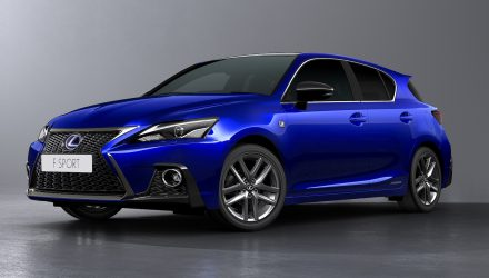 2018 Lexus CT 200h facelift revealed with sharpened design
