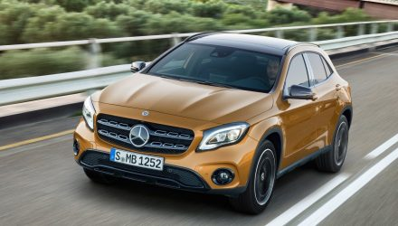 Updated Mercedes-Benz GLA now on sale in Australia