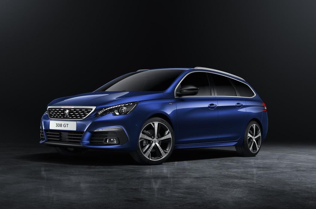 2018 peugeot 308 revealed tweaked design more tech performancedrive. Black Bedroom Furniture Sets. Home Design Ideas