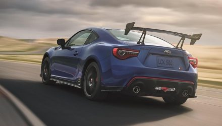 2018 Subaru BRZ tS by STI revealed, for US market