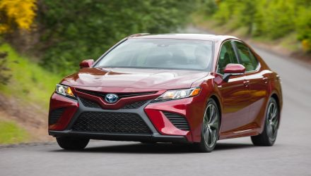 2018 Toyota Camry on sale in Australia in November