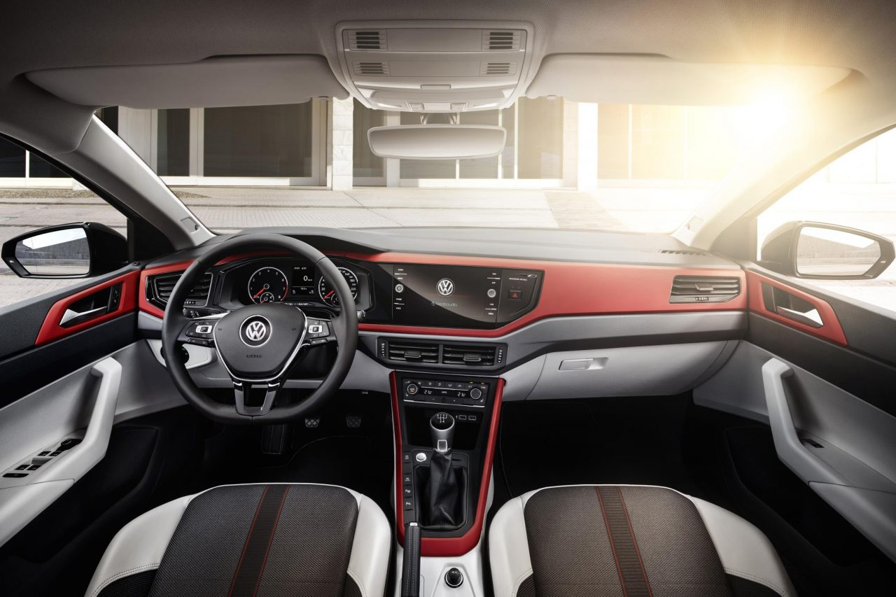 2018 volkswagen polo officially revealed gti packs 147kw for Interior volkswagen polo