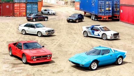 For Sale: Jaw-dropping selection of Group B rally road cars