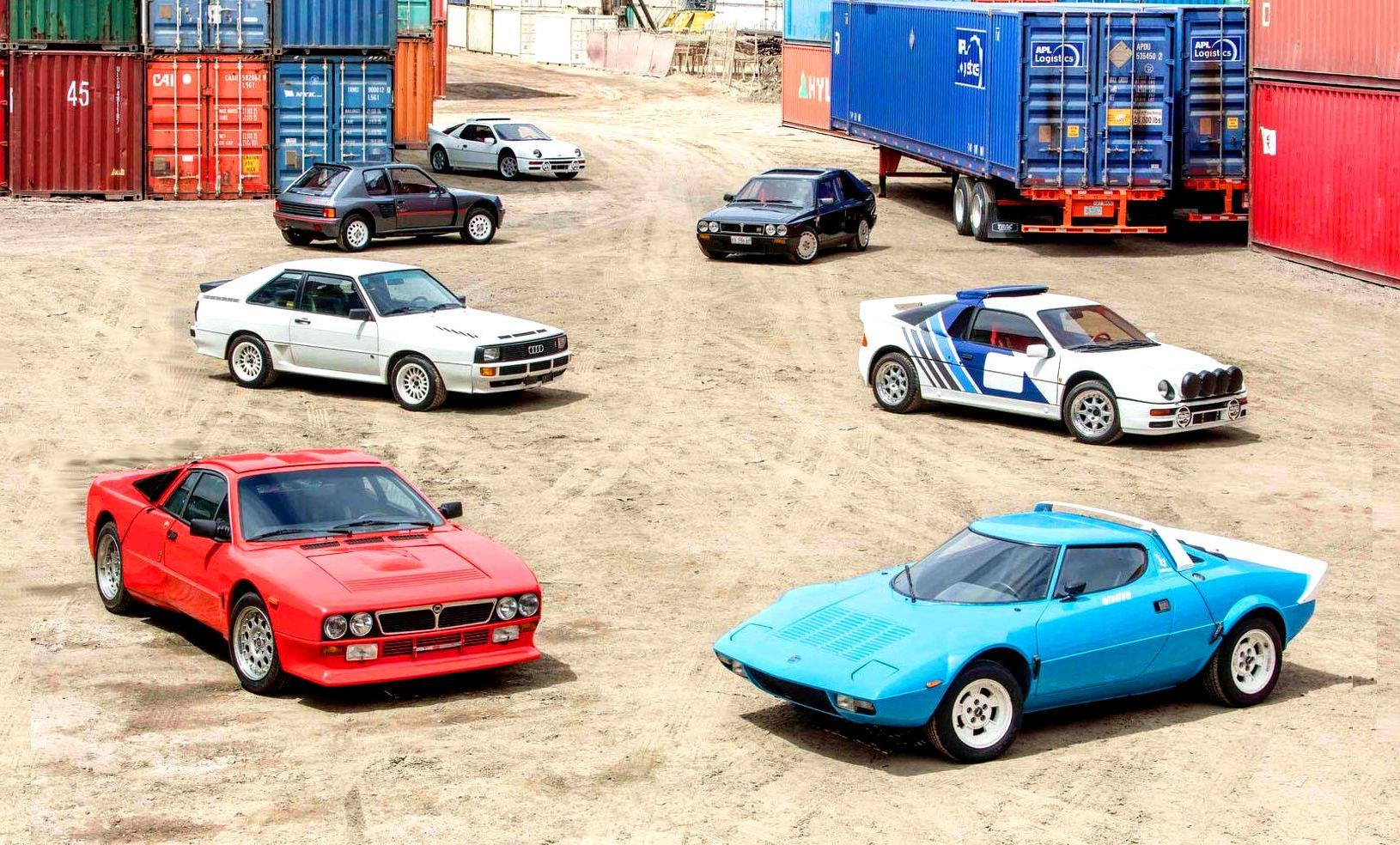 For Sale: Jaw-dropping selection of Group B rally road cars ...