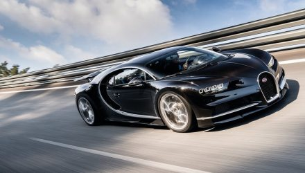Bugatti Chiron won't hit 500km/h, limited by tyres – report