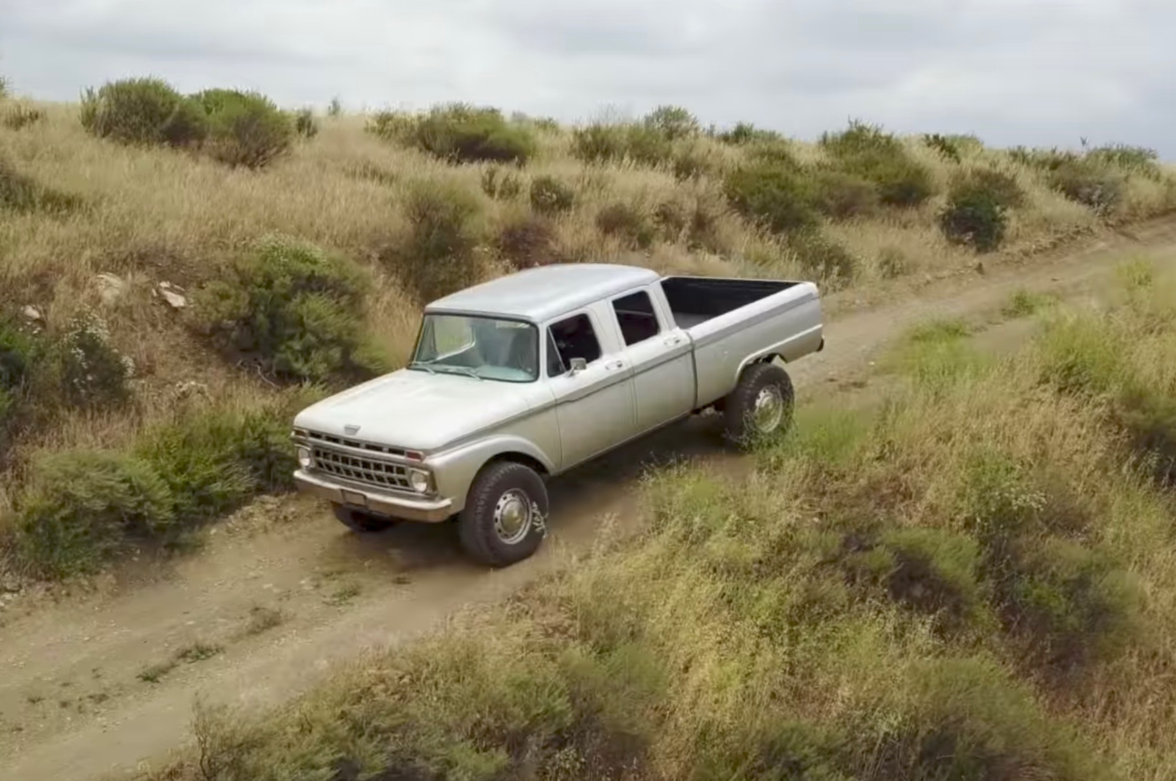 Icon creates modern classic from 1965 Ford F-Series Crew Cab ...