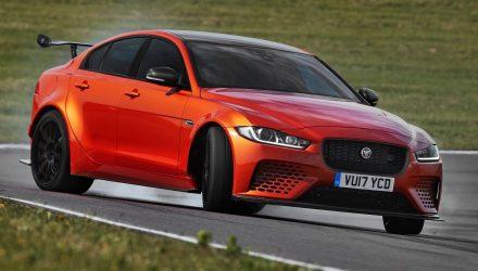 Jaguar unveils 322km/h XE SV Project 8