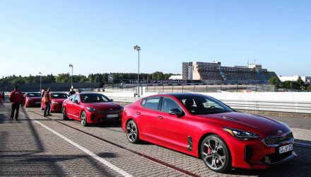 Kia Stinger initial launch takes place at Nurburgring
