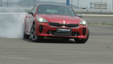 Kia Stinger review shows it has good drifting potential (video)