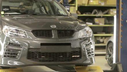 Last HSV GTS production