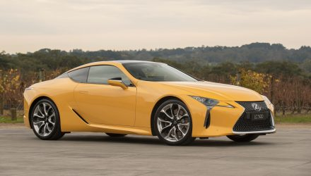Lexus LC 500 & 500h on sale in Australia from $190,000