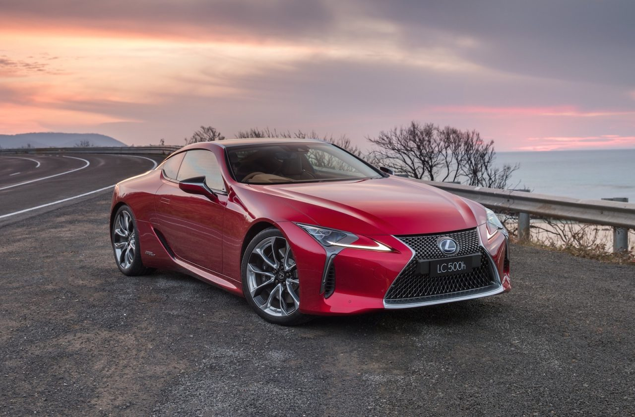 lexus lc 500 500h on sale in australia from 190 000 performancedrive. Black Bedroom Furniture Sets. Home Design Ideas