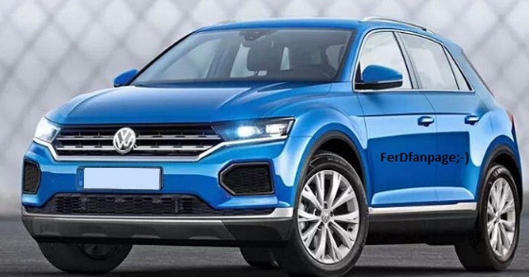 volkswagen t roc images surface revealing new compact suv performancedrive. Black Bedroom Furniture Sets. Home Design Ideas