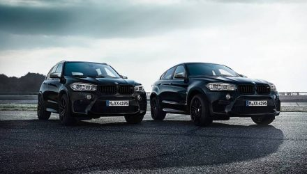 BMW announces X5 M & X6 M Black Fire editions