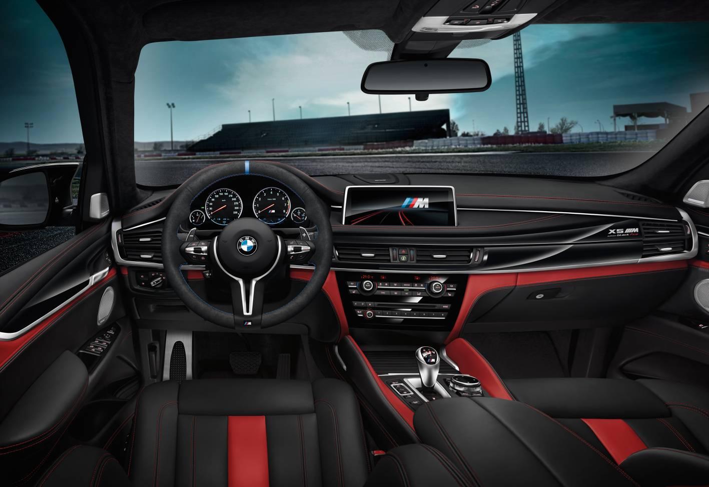 2017 BMW X5 M Black Fire Edition Interior