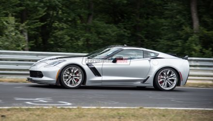 2017 Chevrolet Corvette Z06 laps Nurburgring in 7:13.90 (video)