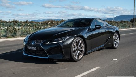 2017 Lexus LC 500h review – first impressions (video)