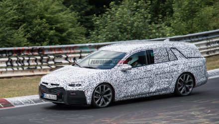 2018 Opel Insignia OPC wagon spotted, new Commodore 'VXR'?