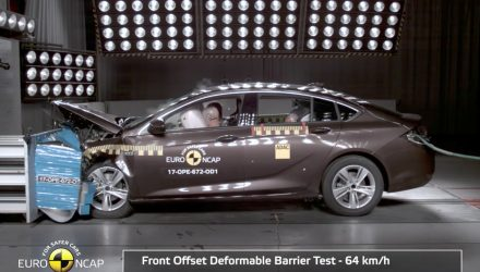 2017 Opel Insignia/2018 Holden Commodore scores 5-star NCAP safety rating