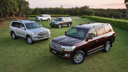 Australia most popular market for Toyota LandCruiser, accounts for 10% global sales
