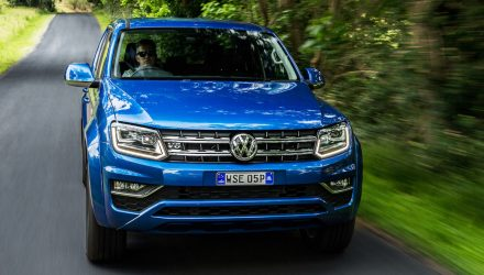 Volkswagen Amarok Sportline V6 on sale from $55,490