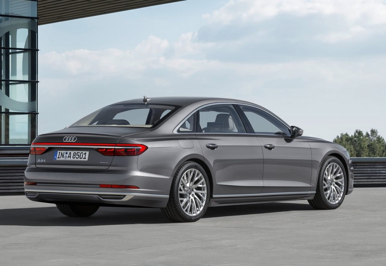 2018 audi a8 officially revealed performancedrive. Black Bedroom Furniture Sets. Home Design Ideas