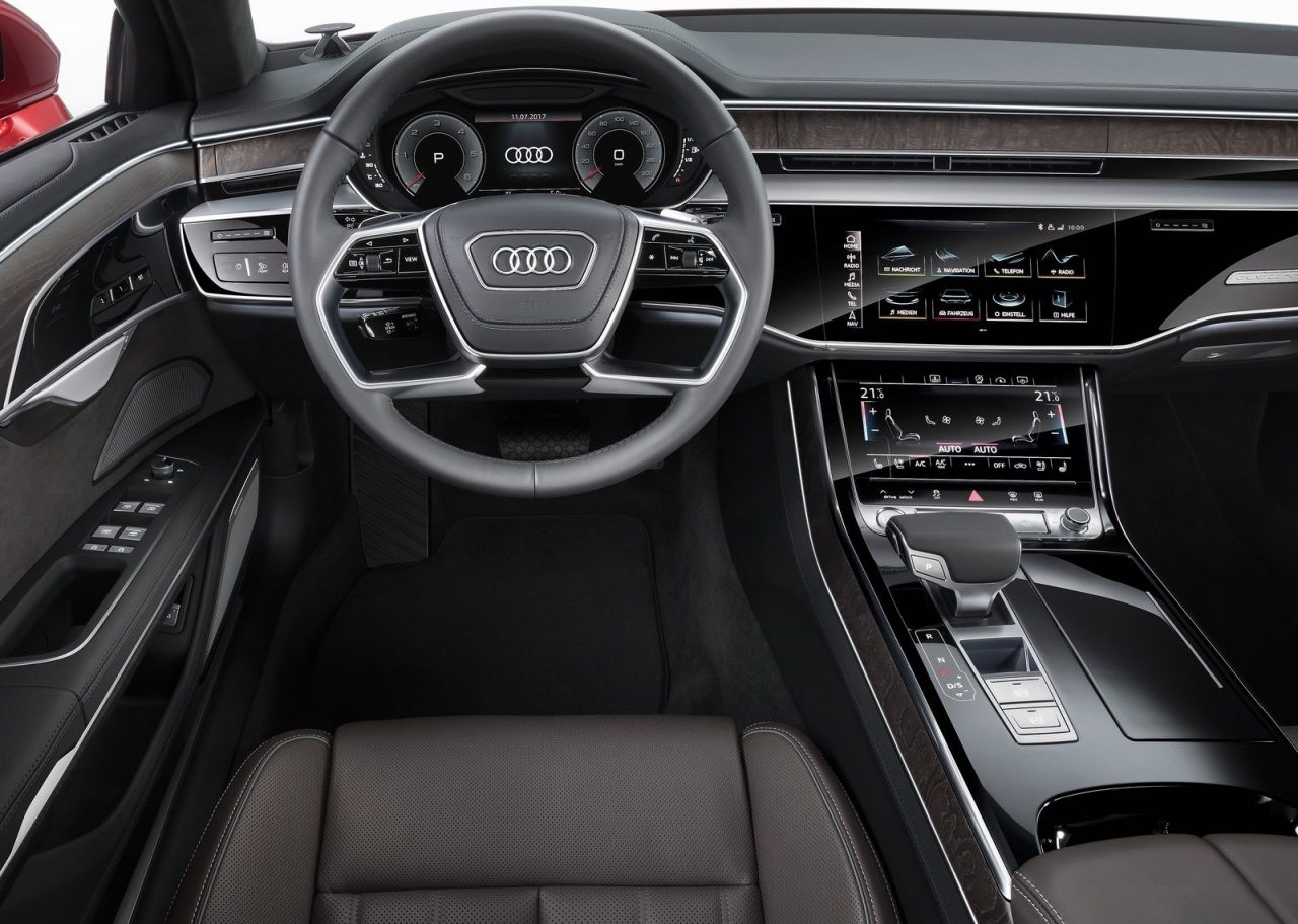 Audi A8 Interior - Audi A Officially Revealed Performancedrive