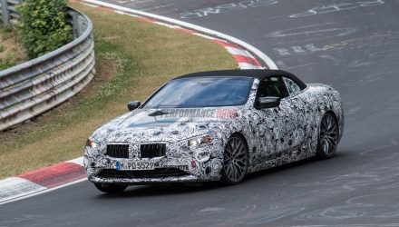 2018 BMW 8 Series convertible spied testing at Nurburgring (video)