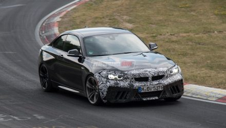 2018 BMW M2 CS prototype spotted at Nurburgring (video)