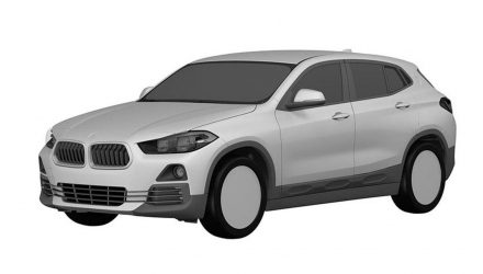 BMW X2 production design revealed with patent images