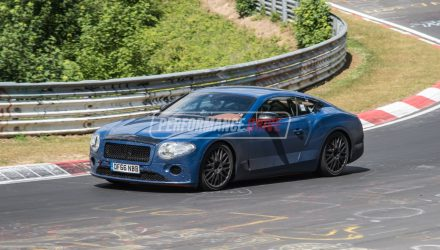 2018 Bentley Continental GT spotted, new W12 sounds good (video)